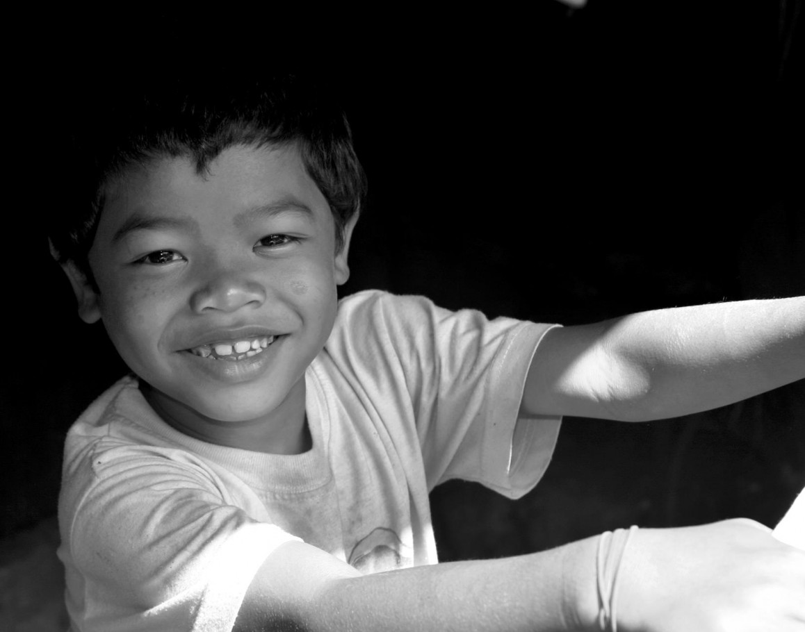 Orang Asli Boy in Shed