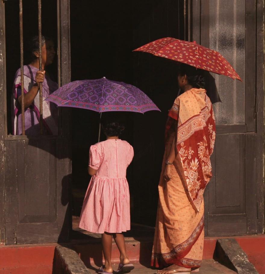 Sri Lankan doorstep