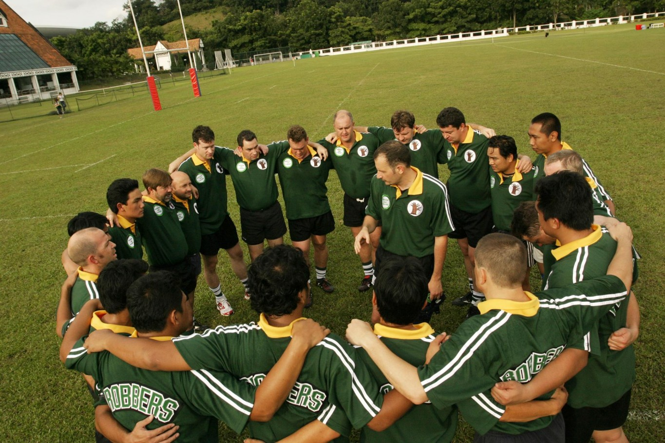Pep talk rugby