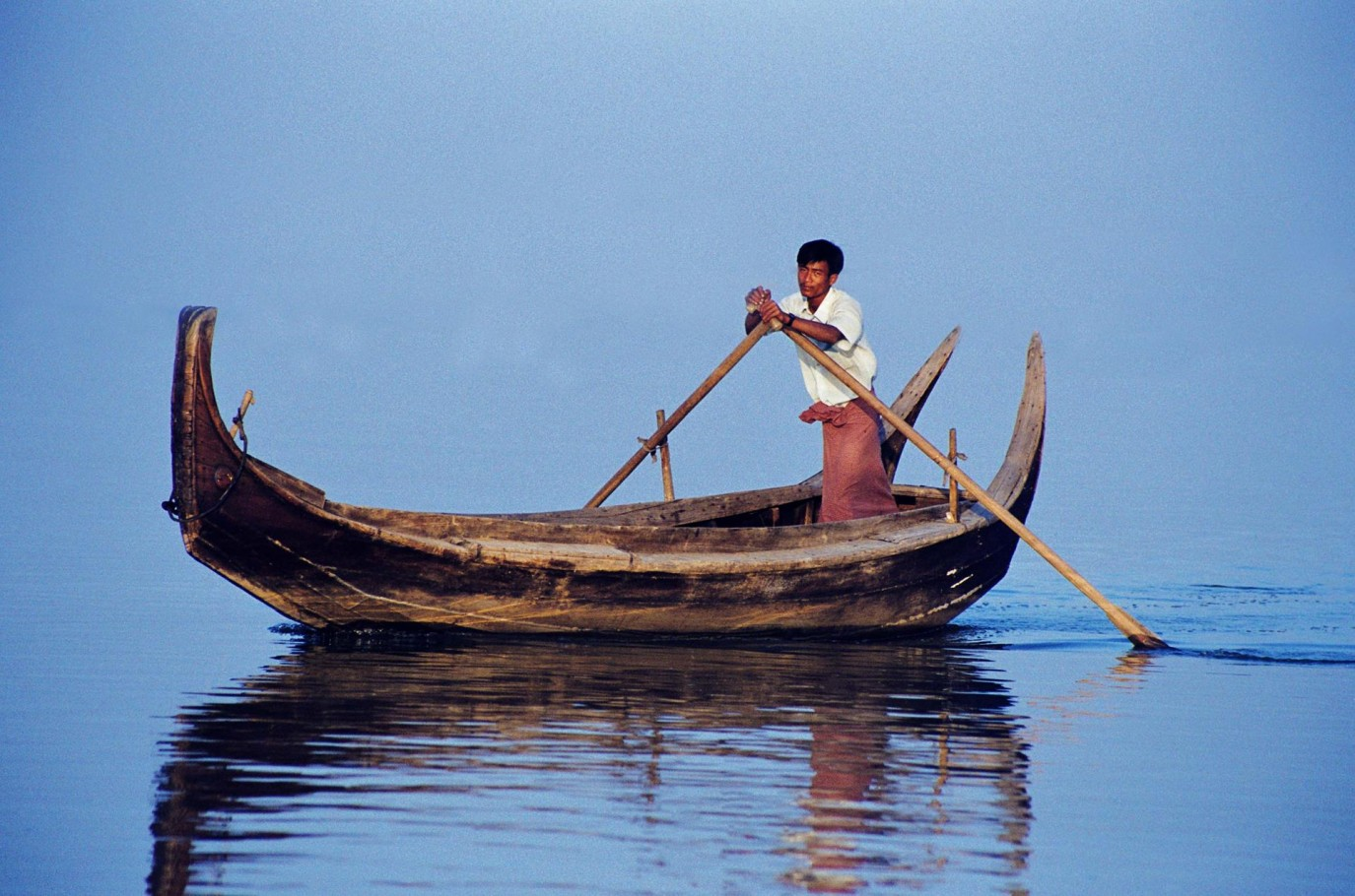 Irrawaddy River Boatman