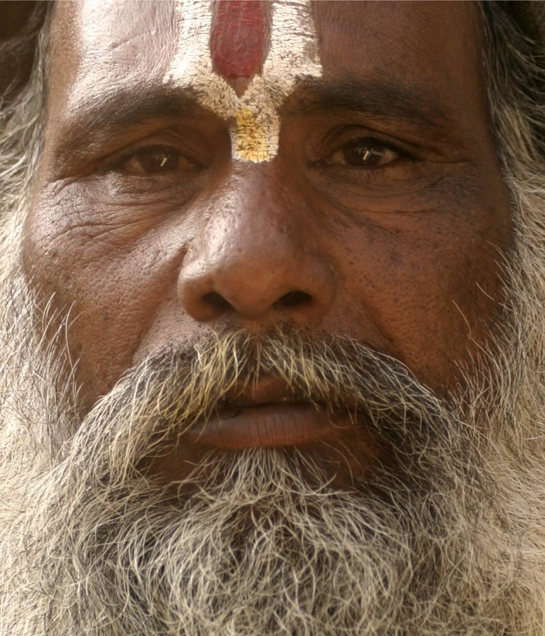 Painted Indian Man