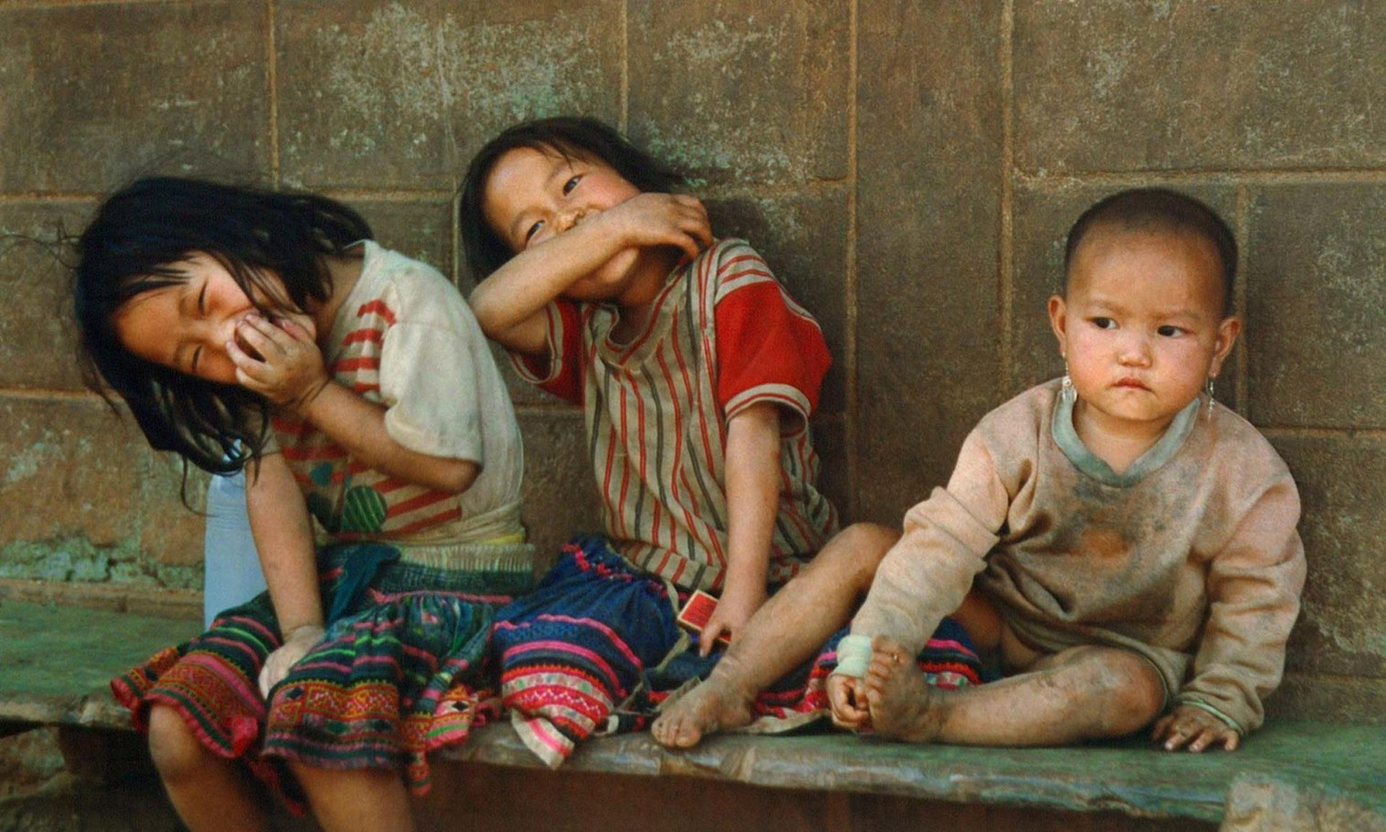 Nepalese Gurkha children
