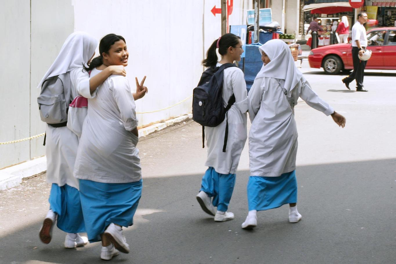 Malaysian schoolchildren