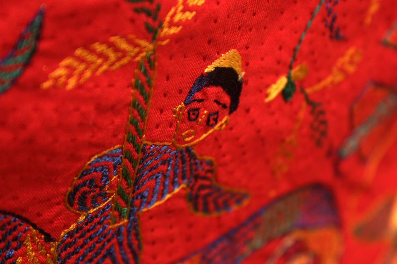 Sri Lankan embroidery (2)